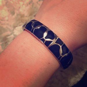 Express Black and Silver bracelet